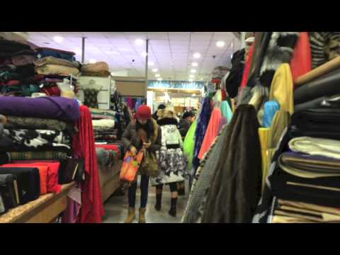Textile Market Almaty