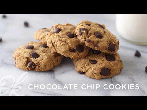 Healthy Chocolate Chip Cookies | Vegan + Gluten-Free!