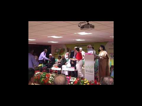 International Conference for Achieving Zero Hunger Challenge-Inauguration at MSSRF, 7 August, 2015
