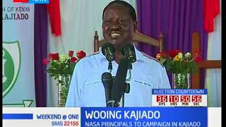 Raila Odinga revisits Kajiado County ahead of fresh polls after Supreme Court ruling