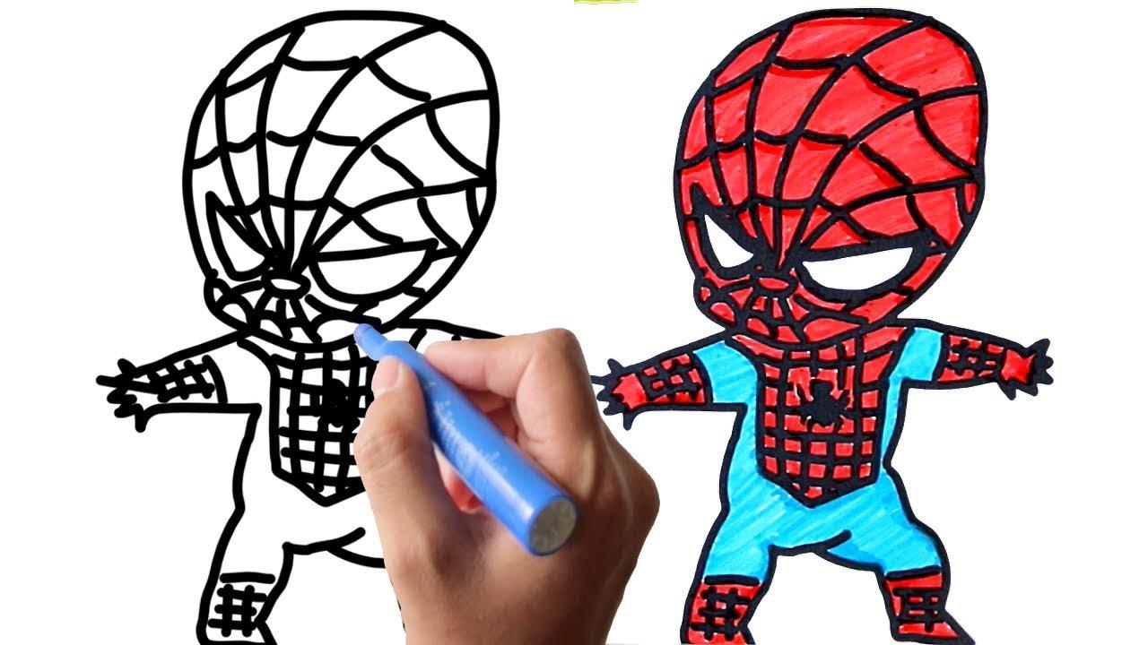 スパイダーマンのイラストを描いてみようhow To Draw Spidermanart