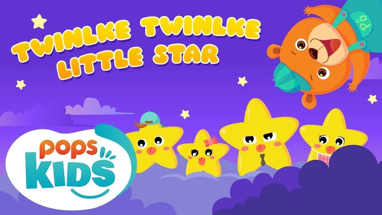 Twinkle Twinkle Little Star - Nhạc Thiếu Nhi Vui Nhộn   Mầm Chồi Lá Tiếng Anh Tập 4