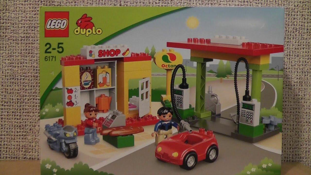 Lego Duplo 6171 Stacja Paliw Youtube