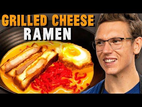 Grilled Cheese Ramen Recipe