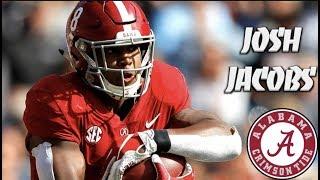 Josh Jacobs Highlights HD | Alabama | 2019 NFL Draft