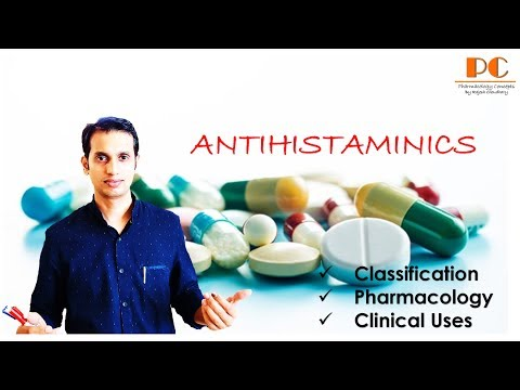 Antihistaminics | Classification And Pharmacology Of Antihistaminic (H1 Receptor Blocker) Drugs