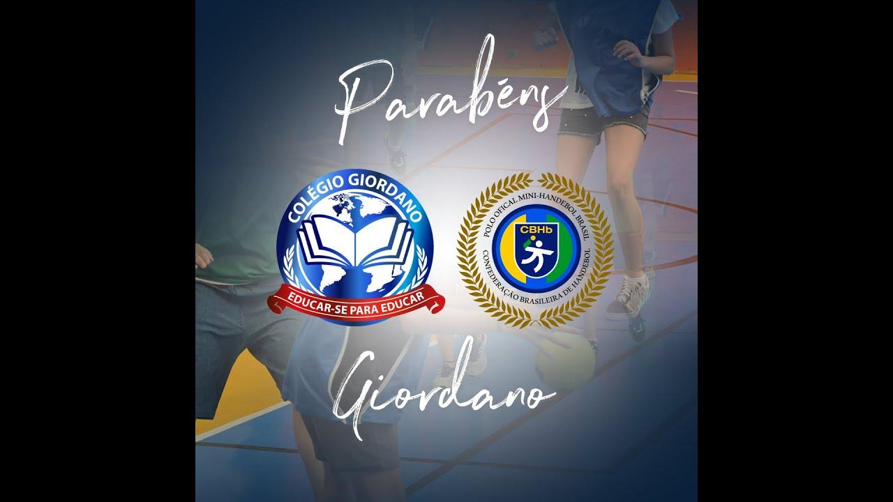 Colégio Giordano recebe Chancela da Confederação Brasileira de Handebol