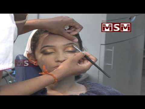 Beauty Parlour Eye Makeup At Home