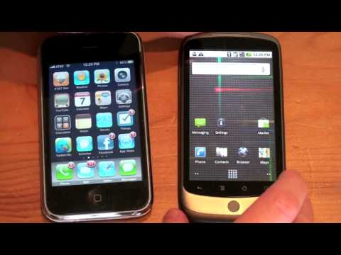 Google Nexus One Vs. iPhone 3GS