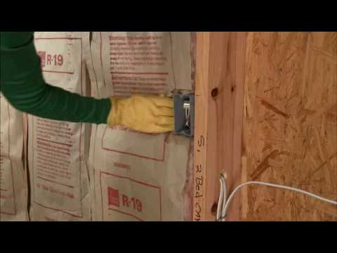 Owens Corning Basement Insulation adding wall insulation video - youtube