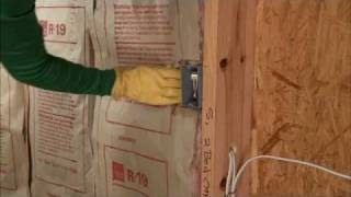 Adding Wall Insulation Video