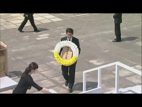 Japan marks 70th anniversary of Nagasaki atomic bomb