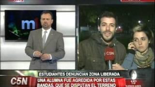 C5N - NARCOTRAFICO: ESTUDIANTES DE LA UBA DENUNCIAN ZONA LIBERADA EN SOCIALES