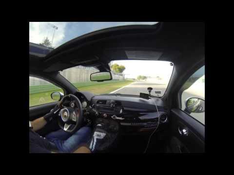 Camera Car - Abarth 595 Competizione - On Board Free Practice at Autodromo di Vallelunga