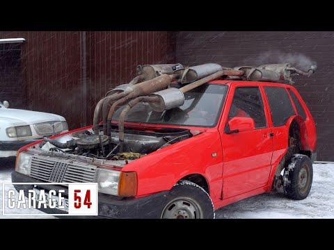 САМЫЙ ТИХИЙ ВЫХЛОП - 9 ГЛУШИТЕЛЕЙ