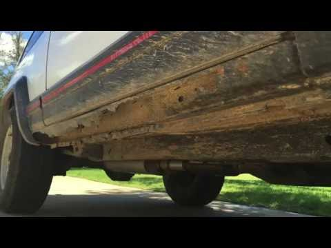 1993 Jeep Cherokee XJ Rust Repair part 1r – rockers and floor pans