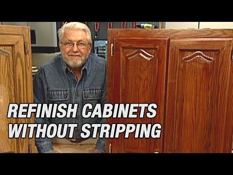 refinish-kitchen-cabinets-without-stripping