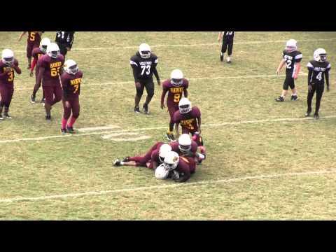 Blackville-Hilda Hawks (Small Fry) vs. Wagner - Salley War Eagles - 2015