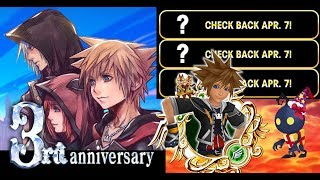3rd Anniversary Site Launched & April's Free Medal Guide - KHUx F2P