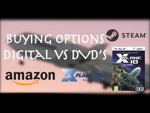 X-Plane 10: Buying Options / Digital vs DVD's