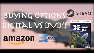 X-Plane 10: Buying Options / Digital vs DVD's