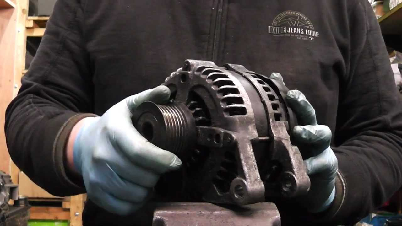 How To Change An Alternator >> Ford Focus/C-MAX and Volvo S40 Alternator repair ...