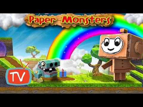 Paper Monster Games - Fun Kids And Baby Adventure Gameplay
