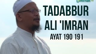 Gambar cover Tadabbur Al-Qur'an: Surah Ali-Imran Ayat 190-191