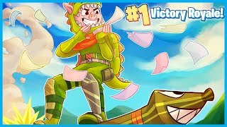 ROCKET RIDING for VICTORY ROYALES in Fortnite: Battle Royale! (Fortnite Funny Moments & Fails)