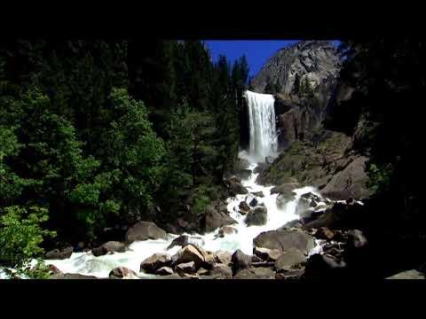 Шум водопада и волшебная музыка для расслабления, сна, медитации/ Waterfall And Magic Music