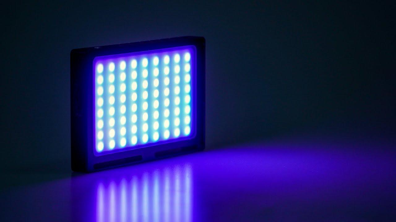 開箱 CP值超高的 MAMEN RGB LED 補光燈|YOUTUBER 背景氣氛燈變色就靠它 |