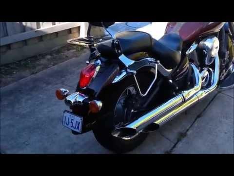 How To MOD Exhaust 2009 Vulcan 900 Custom 2 of 2 | FunnyCat TV