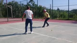 Teniste reaksiyon, kondisyon ve pozisyon alma çalışması 🎾