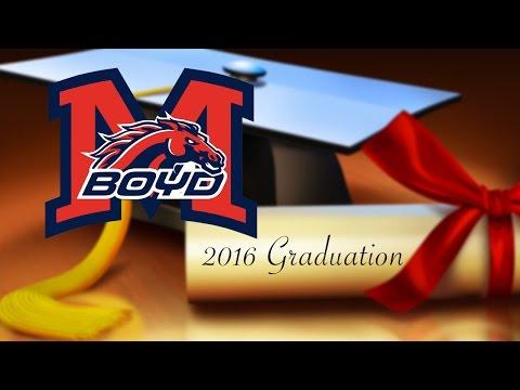 McKinney Boyd High School 2016 Graduation