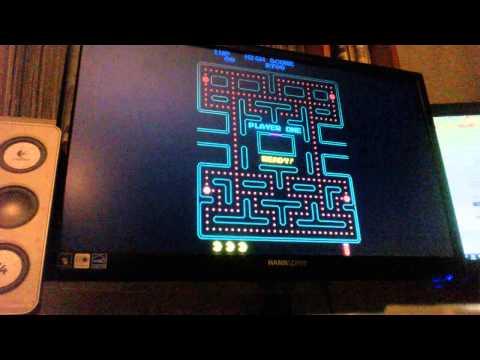 Pac-Man Plus (Arcade) [Score: 8,700]