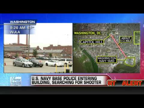 Breaking News : Multiple Fatalities at US Navy Shipyard shooting in Washington D.C. (Sept 16, 2013)