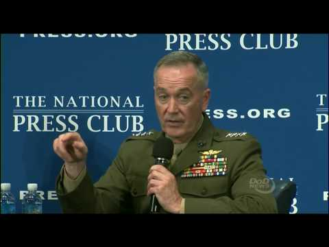 Joint Chiefs of Staff Gen. Joe Dunford discusses trans service members (June 19, 2017)