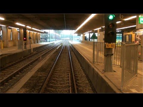Cabinerit metro Rotterdam_Den Haag Centraal-Slinge_020112
