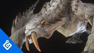 Exclusive Barioth/Banbaro Turf War Gameplay In Monster Hunter World: Iceborne