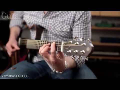 Yamaha Silent Guitar SLG200S & SLG200N review demo