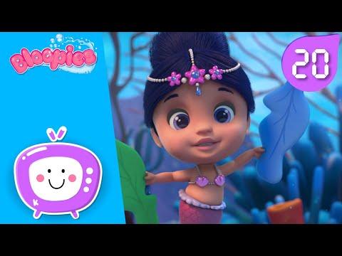 Episoade COMPLETE 💖 BLOOPIES 🧜♂️💦 SHELLIES 🧜♀️💕 COLECȚIA ✨ Desene pentru copii