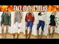 Fall OUTFIT IDEAS | 9 outfits | AFFORDABLE! | Valerie pac