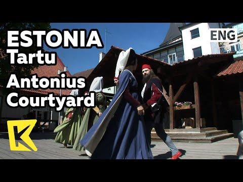 【K】Estonia Travel-Tartu[에스토니아 여행-타르투]안토니우스 길드의 중세 장터 축제/Antonius Courtyard/Guild/Medieval/Market