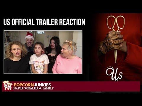 Us (Official Trailer) - Nadia Sawalha & Family Reaction