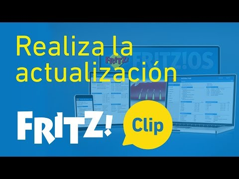 FRITZ! Clip – FRITZ!OS - Realiza la actualización