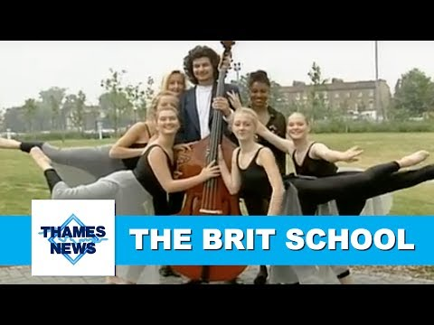 The BRIT School for Performing Arts & Technology, Croydon | Thames News Archive Footage