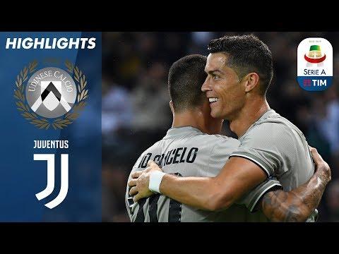 Udinese 0-2 Juventus   Il gol di Ronaldo porta la Juve alla vittoria!   Serie A