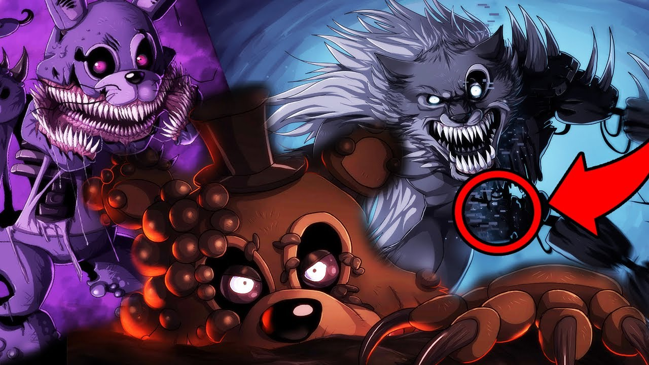 Twisted Wolf Animatronic New Twisted Fnaf Teasers The