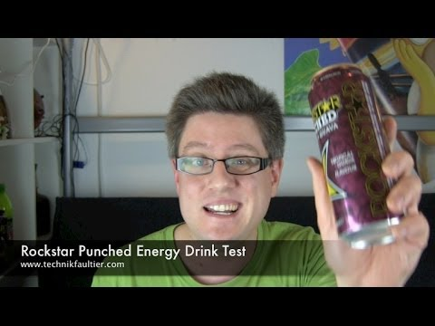 Rockstar Punched Energy Drink Test