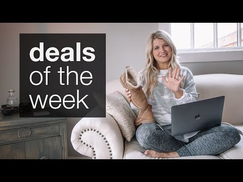 Fashion Finds - DEALS OF THE WEEK! (Amazon, Aerie, Nordstrom, and More!)